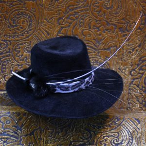 Black Peachbloom Stetson