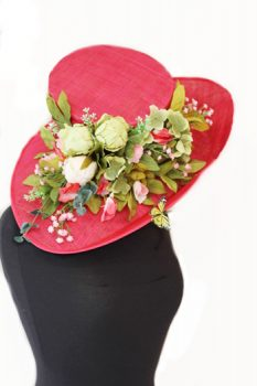 Red Wedding Hat