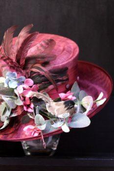 Fuchsia Pink Hat